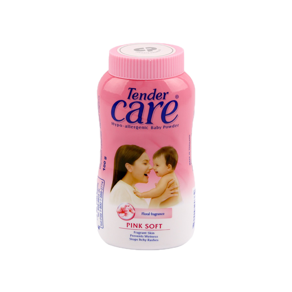 TENDER CARE BABY POWDER PINK SOFT 50G