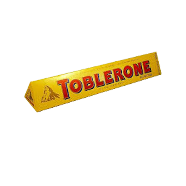 TOBLERONE MILK CHOCOLATE W/ HONEY AND ALMOND NOUGAT 100G