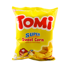 TOMI CORN CHIPS SWEET CORN 110G
