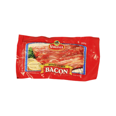 VIRGINIA FOODS BACON HONEY-CURED 200G