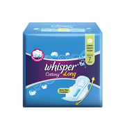 WHISPER COTTONY CLEAN EXTRA LONG / EXTRA HEAVY FLOW WING 7S