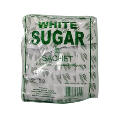 SUGAR WHITE IN SACHET 7G 100PCS
