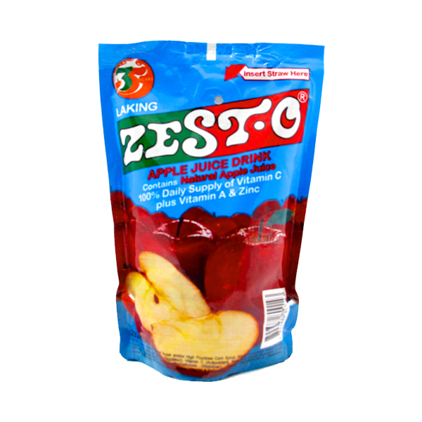 ZEST-O APPLE JUICE DRINK 200MLX10