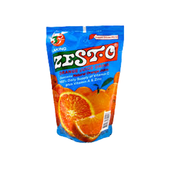 ZEST-O ORANGE JUICE DRINK 200ML X10