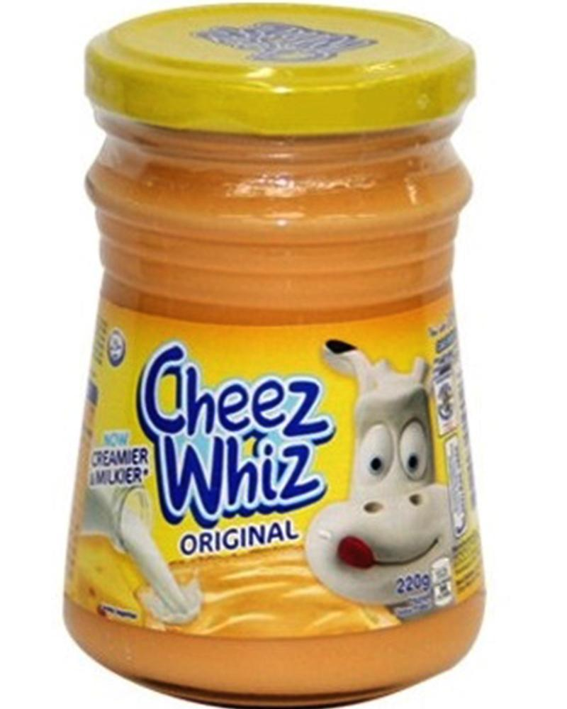 KRAFT CHEEZ WHIZ ORIGINAL 250G/220G