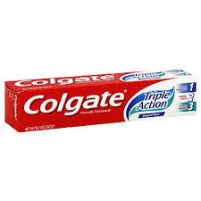 COLGATE FLOURIDE TOOTHPASTE TRIPLE ACTION 145ML