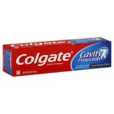 COLGATE FLOURIDE TOOTHPASTE GREAT REGULAR FLAVOR 214G