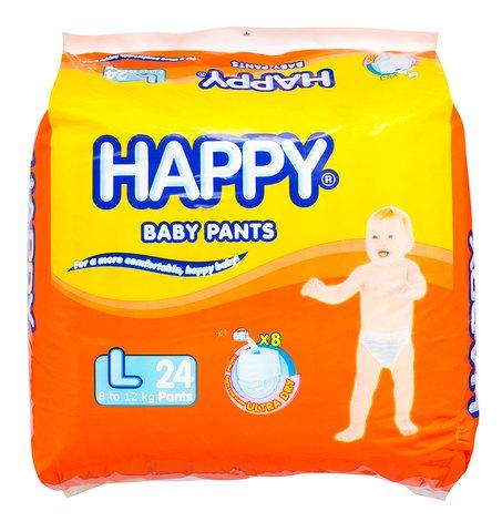 HAPPY BABY PANTS LARGE 24'S