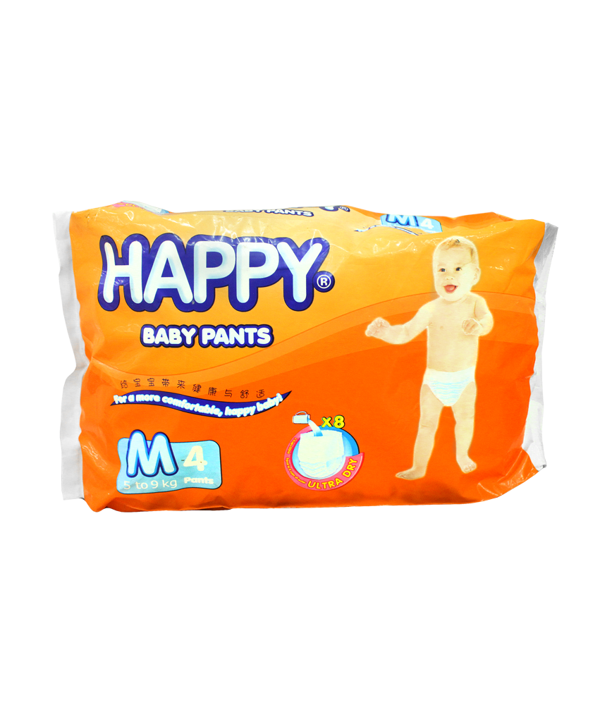 HAPPY BABY PANTS MEDIUM 4'S