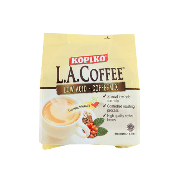 KOPIKO L.A. COFFEE LOW ACID-COFFEMIX 25G MINIBAG X10S