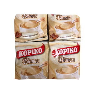 KOPIKO CAFE BLANCA SMOOTH & CREAMY COFFEE 30G x 30S