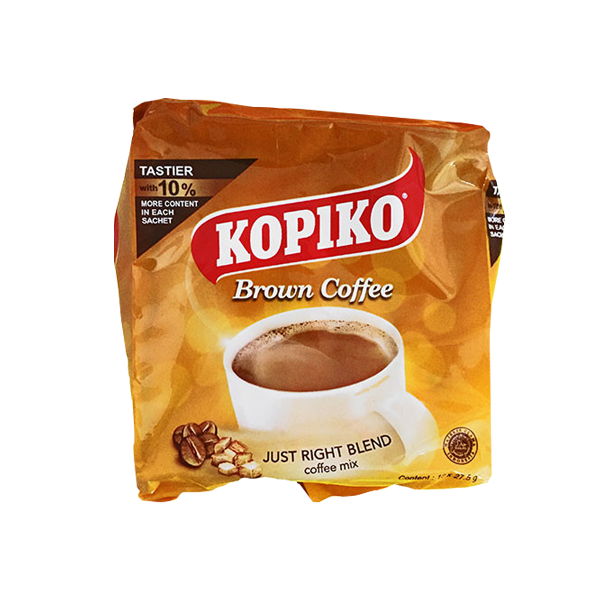 KOPIKO BROWN COFFEE 27.5G/25GX10S