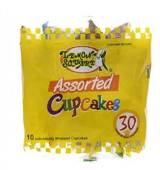 LEMON SQUARE ASSORTED CUPCAKES 30GX10S