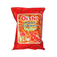OISHI PRAWN CRACKERS SPICY 60G
