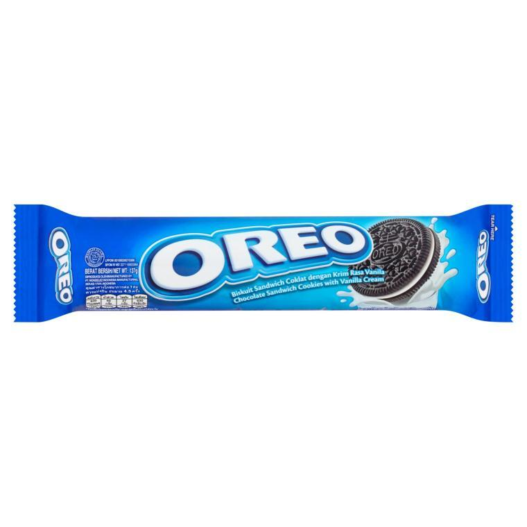OREO SANDWICH COOKIES WITH VANILLA FLAVORED CREAM 137G