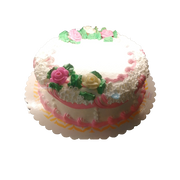 BREAD FACTORY CAKE ROUND PINK
