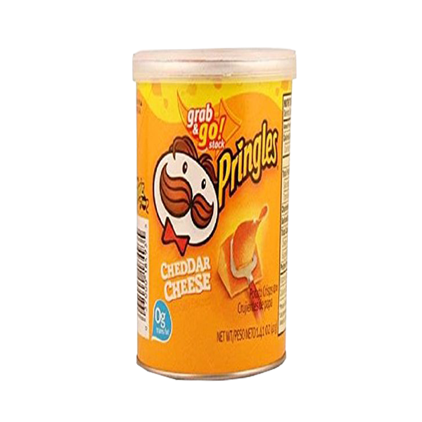 PRINGLES CHEESE POCKET CAN 42G