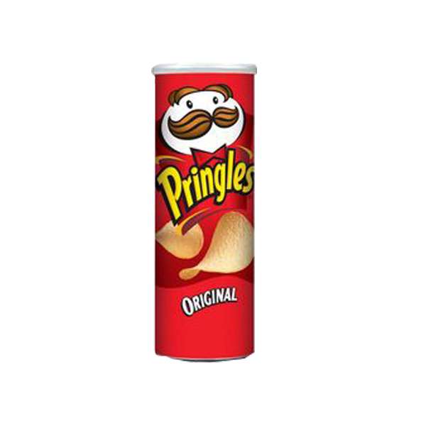 PRINGLES POTATO CRISPS RED ORIGINAL 5.75OZ/6OZ/170G/163G
