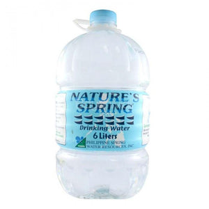 NATURES SPRING PURIFIED DRINKING WATER 6L