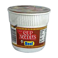 NISSIN MINI CUP NOODLES BEEF 40G