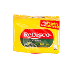 REBISCO HONEY BUTTER CRACKERS 32GX10'S