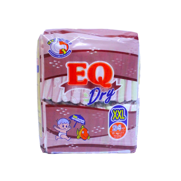 EQ DRY DISPOSABLE ECONO PACK XXL 24S