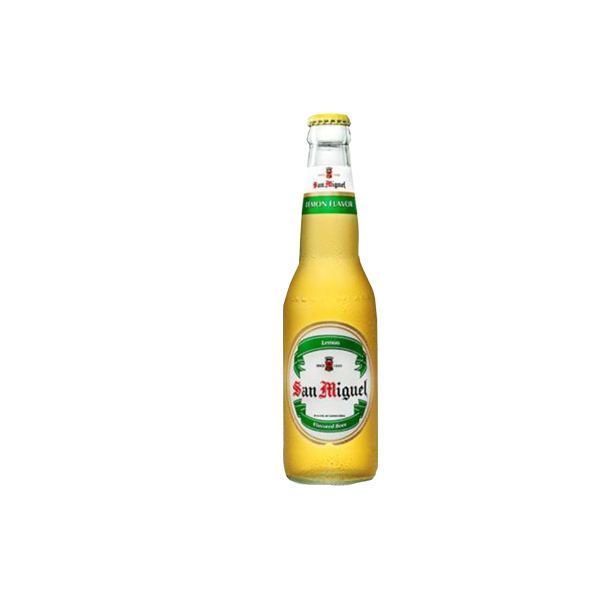SAN MIGUEL MALT BEER LEMON FLAVOR 330ML