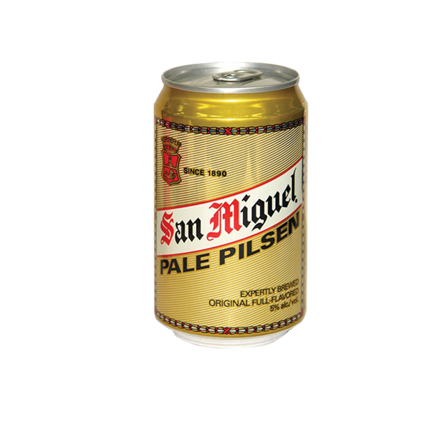 SAN MIGUEL PALE PILSEN CAN 330ML