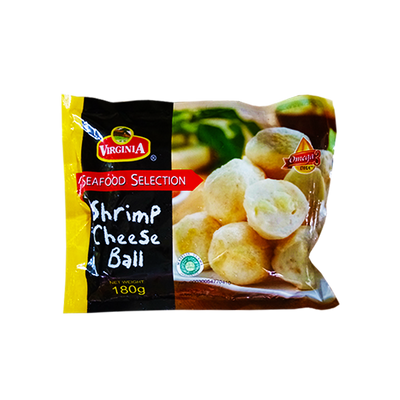 VIRGINIA SHRIMP CHEESE BALL 180G