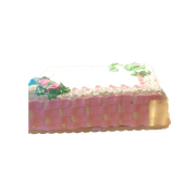 BREAD FACTORY CAKE RECTANGLE PINK