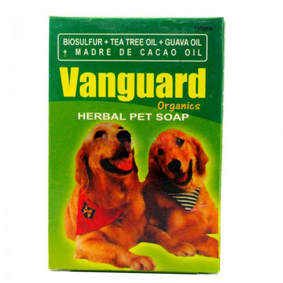 VANGUARD PET SOAP 135G