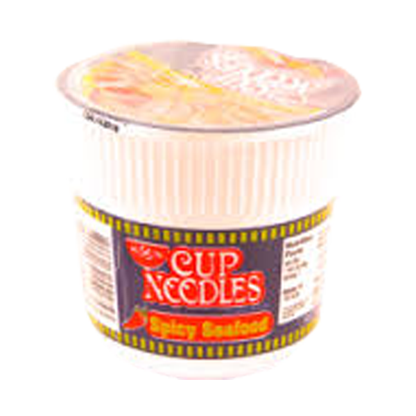 NISSIN CUP NOODLES SPICY SEAFOOD 60G