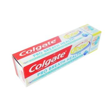 COLGATE TOOTHPASTE TOTAL  PRO BREATH HEALTH VALUE PACK 50% OFF ON 2ND TUBE 2X110G