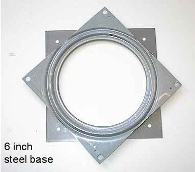 "6"" Steel Swivel Base"