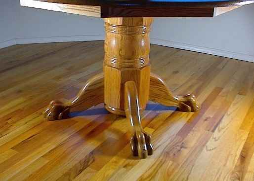 LST-50  Traditional Style Lazy Susan Table (3 Toed legs)