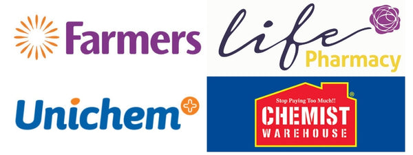 New Zealand in store stockists of thin lizzy farmers life pharmacy unichem pharmacy chemist warehouse