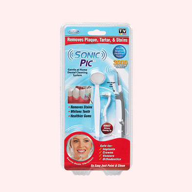 Sonic Pic - Dental Cleaning System | Was $29.99 Now $5.99