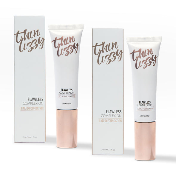 Flawless Complexion Liquid Foundation - Buy One Get One Free! Total Value $79.98, Now Only $39.99!