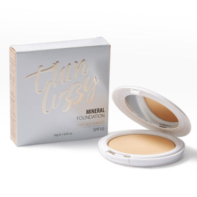 Pressed Mineral Foundation - The Natural Full Coverage Foundation!