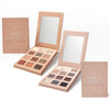 Triple Effect Warm & Cool Collection Eyeshadow Palette Bundle - 3D Texture Technology Transforms 12 Shades Into 36!