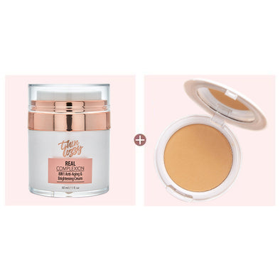 Real Complexion Cream + Free Pressed Mineral Foundation. Total Value $99.98, Now Only $59.99!