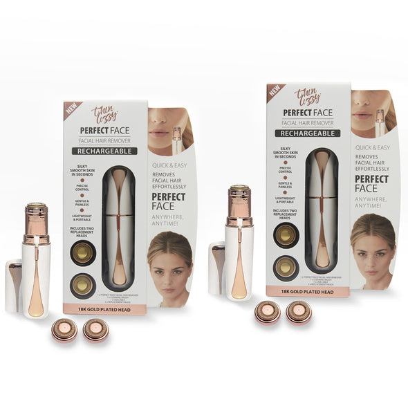 Perfect Face Facial Hair Remover (Rechargeable) - Buy One Get One Free!