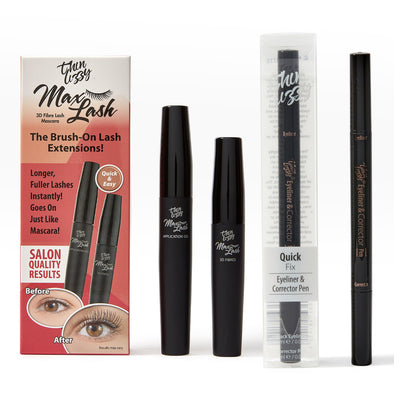 Max Lash Mascara & Quick Fix Eyeliner and Corrector Pen Bundle