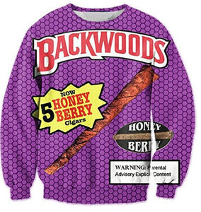 Backwoods Honey Berry Crewneck Sweatshirt