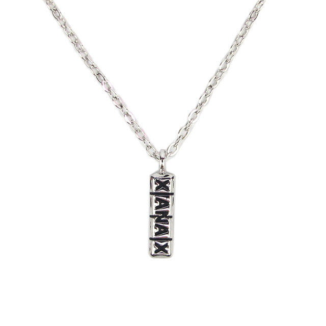 Xanax Bar Necklace