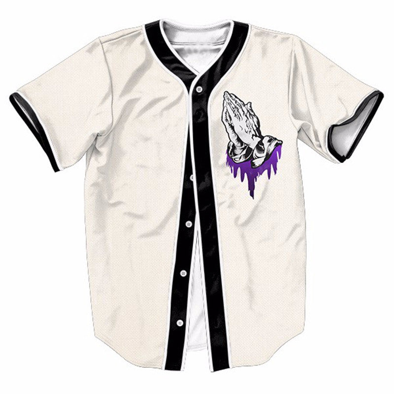 Codeine Prayers Baseball Shirt