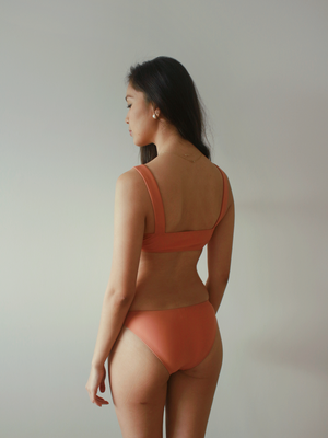 Leilani Top in Apricot