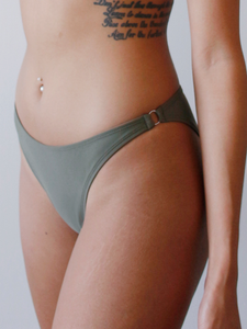 Lana Bottoms in Olive
