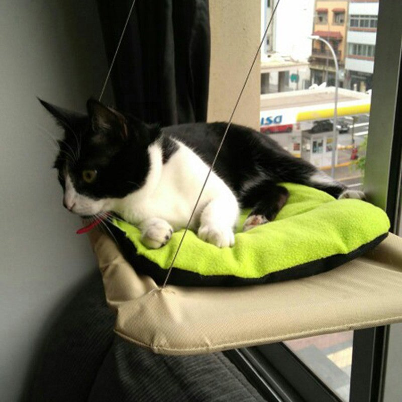 Groovy Sunny Seat Cat Window Bed Myspoiledkitty Andrewgaddart Wooden Chair Designs For Living Room Andrewgaddartcom