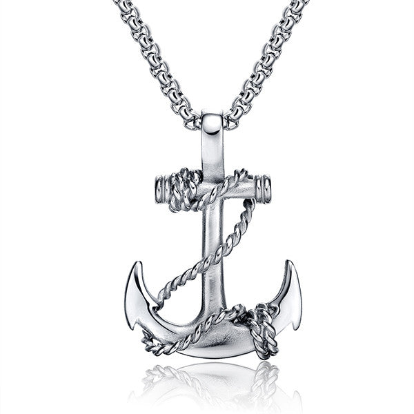 Anchor Pendant Necklace (30% Off while supplies last!)